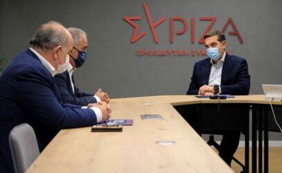 """Τσίπρας: """"Πέντε μέτρα-ανάσα για μικρές και μεσαίες επιχειρήσεις"""""""