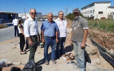 Δήμος Δέλτα: Νέο σύγχρονο δίκτυο υδροδότησης αποκτούν οι κοινότητες Διαβατών και Νέας Μαγνησίας