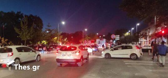 Θεσσαλονίκη: Κυκλοφοριακό κομφούζιο στο κέντρο της πόλης (ΦΩΤΟ)