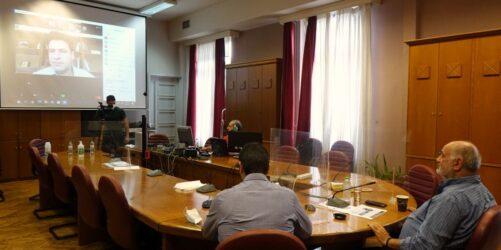 ΕΕΘ: Τηλεδιάσκεψη με τον Ειδικό Γραμματέα Διαχείρισης Ιδιωτικού Χρέους (ΦΩΤΟ)