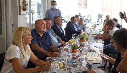 ΕΕΘ: Γεύμα της Διοικητικής Επιτροπής σε δημοσιογράφους