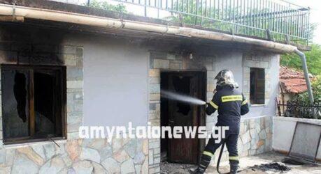 Τραγωδία στη Φλώρινα: Ηλικιωμένη κάηκε μέσα στο σπίτι της