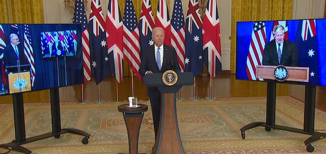 Thes - AUKUS: ΗΠΑ-Ηνωμένο Βασίλειο και Αυστραλία ανακοίνωσαν συμμαχία εναντίον της Κίνας