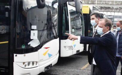 """Καραμανλής από Θεσσαλονίκη: """"Εχουμε ανανεώσει τον στόλο των λεωφορείων του ΟΑΣΘ κατά 95%"""""""