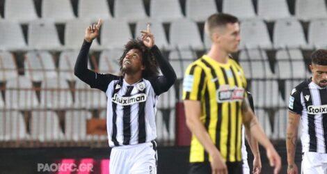 Super League: Μεγάλη νίκη του ΠΑΟΚ στο ντέρμπι με την ΑΕΚ – Κέρδισε με 2-0