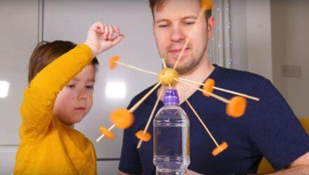 πείραμα μαζί με τα παιδιά σας