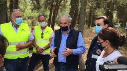 Θεσσαλονίκη: Στο Σέιχ Σου ο υπουργός Κλιματικής Κρίσης Χρήστος Στυλιανίδης
