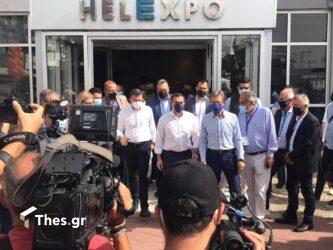 Τσίπρας: Ξεκίνησε η βόλτα του στην 85η ΔΕΘ (ΦΩΤΟ)