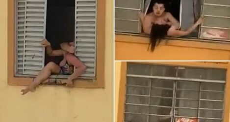 Βραζιλία: Εγκυος προσπαθεί να πηδήξει από το παράθυρο για να φύγει από τον κακοποιητικό σύζυγο της (ΒΙΝΤΕΟ)