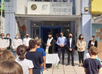 Ζέρβας: «Ο Δήμος Θεσσαλονίκης δίπλα σε μαθητές, γονείς και εκπαιδευτικούς»
