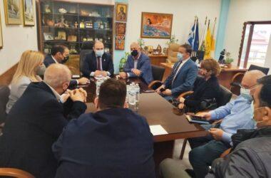 Κιλκίς: Σύσκεψη με τον γγ του Υπουργείου Υγείας για την άνοδο των εμβολιασμών