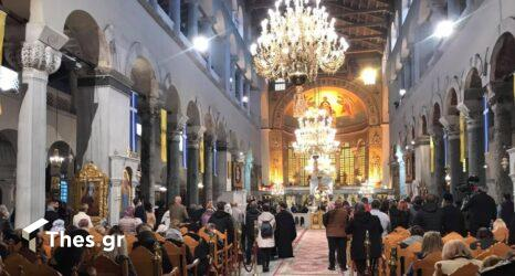 Θεσσαλονίκη: Με ευλάβεια και κατάνυξη οι εορτασμοί στον Ιερό Ναό του Αγίου Δημητρίου (ΦΩΤΟ)