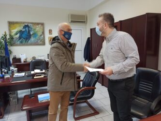 Δήμος Ωραιοκάστρου: Ο Χαράλαμπος Καλώνης ορκίστηκε νέος δημοτικός σύμβουλος