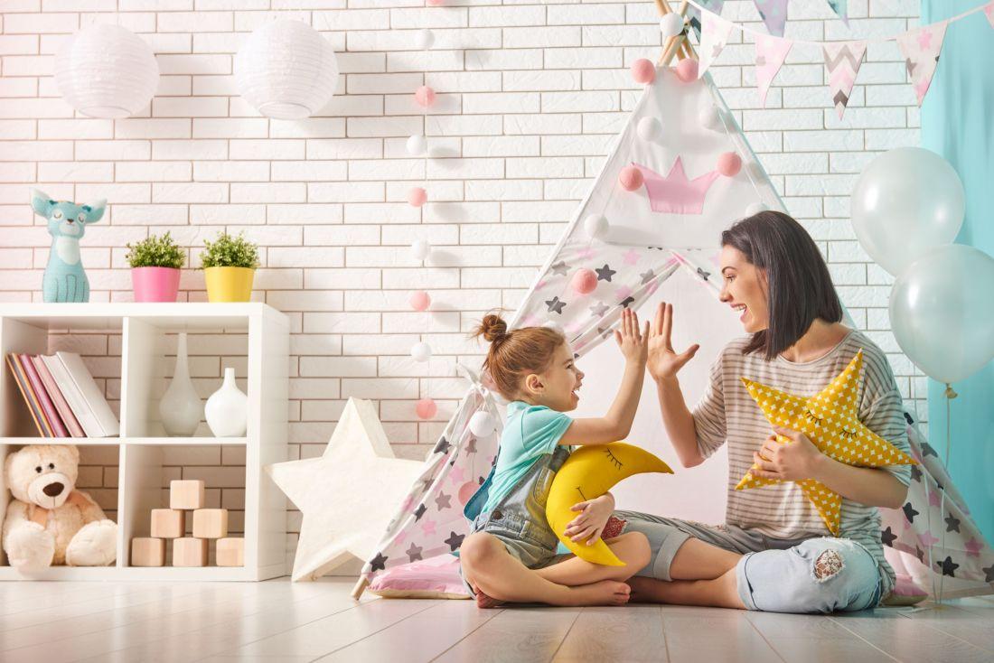 DIY παιδική σκηνή για το παιδί σας