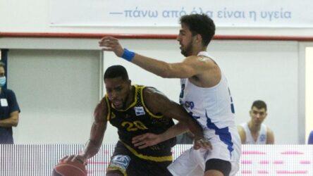 """Basket League: """"Λύγισε"""" στην παράταση ο Αρης – Εχασε από τον Ιωνικό με 93-83"""
