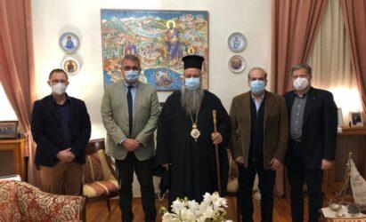 Συζήτηση για τη συνεργασία Εκκλησίας-Κράτους είχαν Μητροπολίτης Κίτρους και Αθανάσιος Εξαδάκτυλος