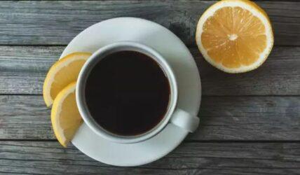 καφές με λεμόνι διαίτα