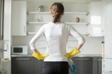 κουζίνα καθαριότητα
