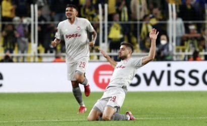 Europa League: Ο Γιώργος Μασούρας κορυφαίος παίκτης της εβδομάδας