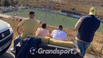 Κρήτη: Παρέα πήγε να δει το ματς με τον… καναπέ της