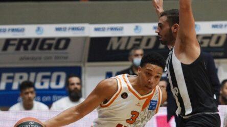 Basket League: Το πάλεψε στην Πάτρα ο ΠΑΟΚ – Ηττα από τον Προμηθέα με 84-77