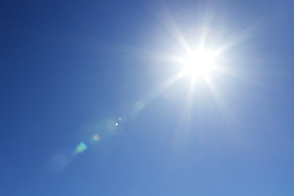 καιρός ήλιος