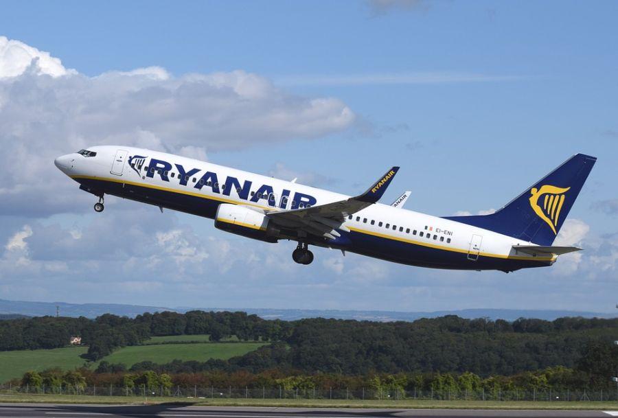 Ryanair κορονοϊό, πτήσεις Θεσσαλονίκη Ιανός