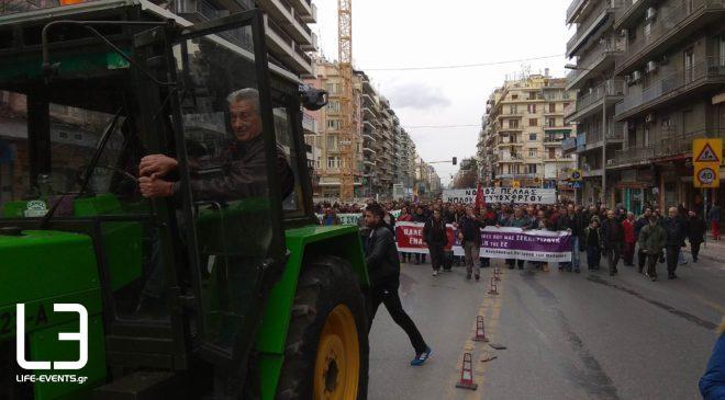 Θεσσαλονίκη: Συλλαλητήριο αγροτών σήμερα στο κέντρο της πόλης