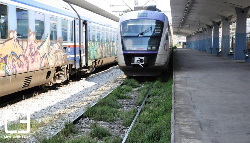 τρένο τρένα απεργία
