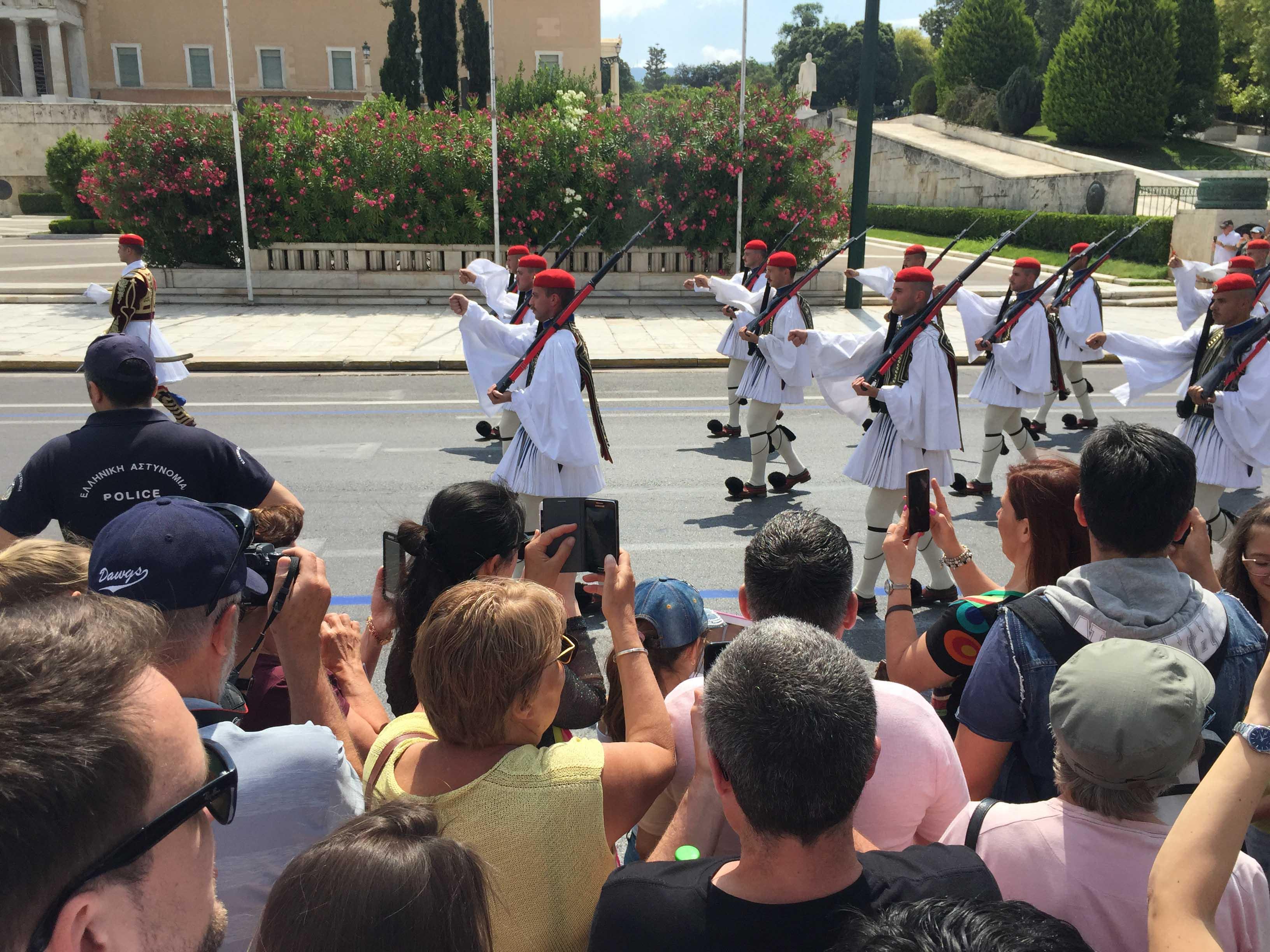 Προεδρική φρουρά-Λεβεντιά και περηφάνια