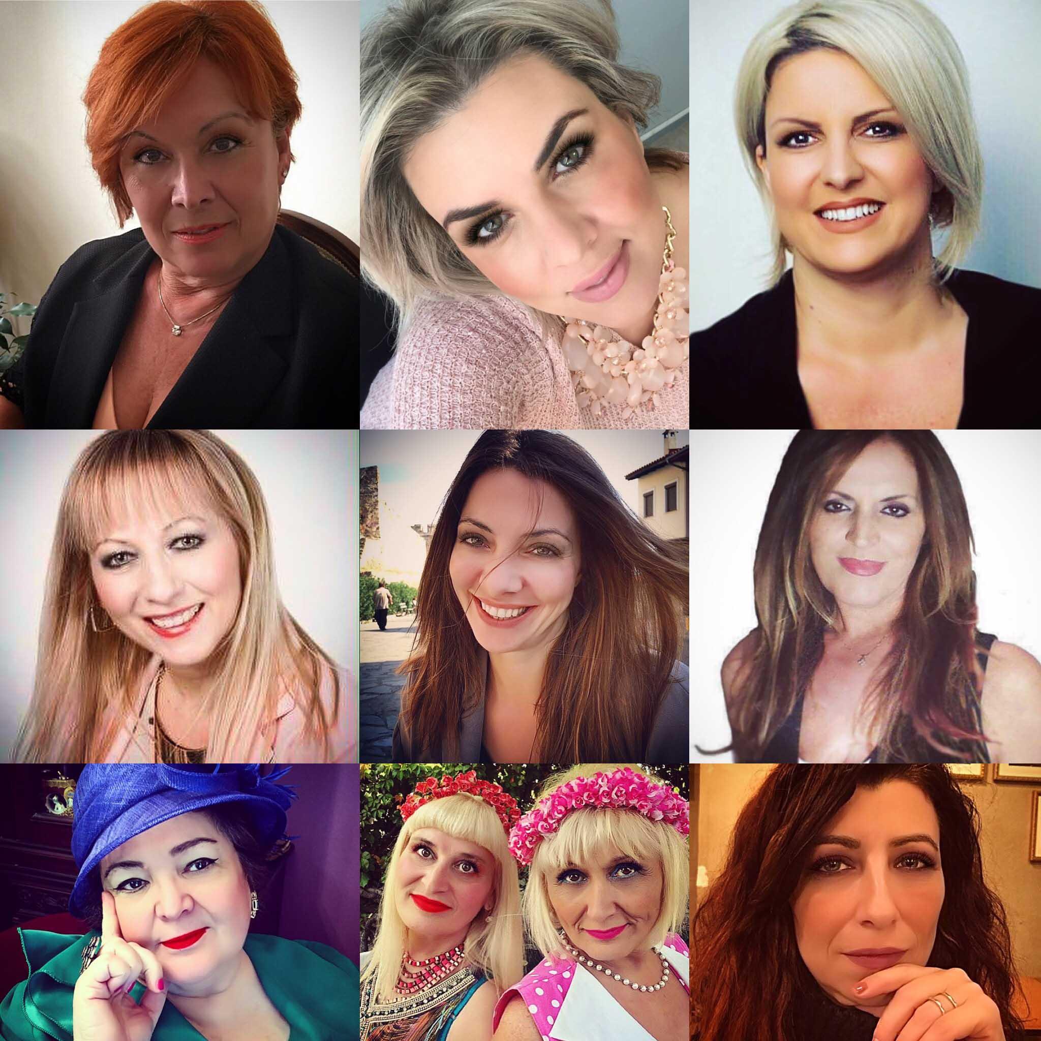 Womens power instagram portraits-Γυναίκες μαζί