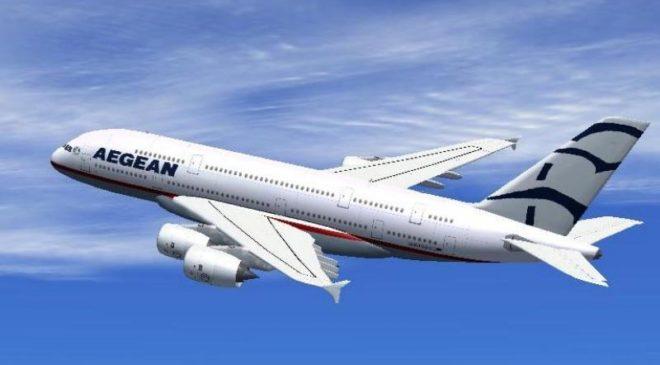 Οκτώ νέα δρομολόγια της Aegean Airlines από το αεροδρόμιο «Μακεδονία»
