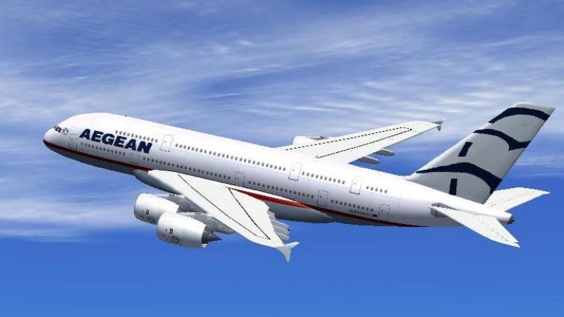 Aegean Airlines πτήσεις AEGEAN