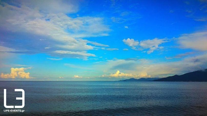 καιρός σύννεφα Θεσσαλονίκη καιρού