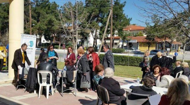 Δεκάδες δημότες ανταποκρίθηκαν στις δωρεάν εξετάσεις στη Νέα Ραιδεστό (ΦΩΤΟ)