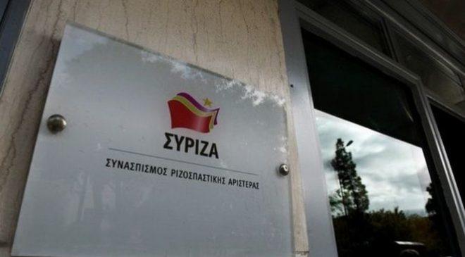 Ντίνος Χριστιανόπουλος: Συλλυπητήριο μήνυμα του ΣΥΡΙΖΑ
